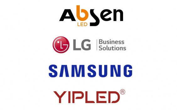 marques LED sidev absen lg samsung yipled