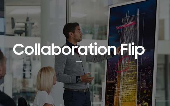 flip samsung collaboration