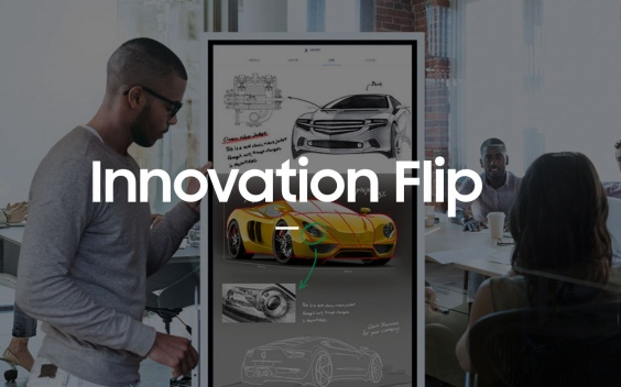 flip samsung innovation