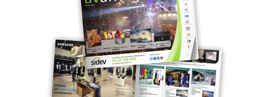 catalogue marketing sidev